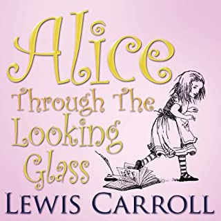 Couverture de Alice Through the Looking Glass
