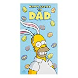 Hallmark Simpsons Ostern Karte    For Dad  �     M