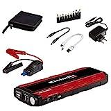 Einhell CE-JS 18 Arrancador Multifunción para vehículos (Power Bank para dispositivos móviles), Negro, Rojo