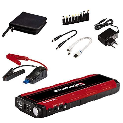 Einhell Auto-Starthilfe CE-JS 18 (Starthilfe & Energiestation, mobile Stromversorgung, Ladezustandsanzeige, Starhilfeeinrichtung, inkl. Adapter)