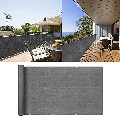 uuffoo Balcony Privacy Screen Windscreen Cover Incl In stock Fence Al sold out.