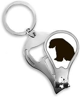 Black Polar Bear Animal Portrayal Toenail Clipper Cutter