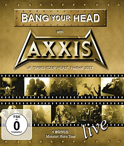 Bang Your Head With Axxis (BluRay) [Blu-ray]