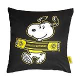 Borussia Dortmund BVB 09 Fanartikel Dekokissen Snoopy (40x40cm)