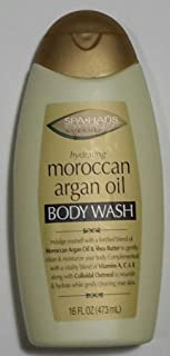 SPA HAUS Hydrating Moroccan Argan Oil Body Wash