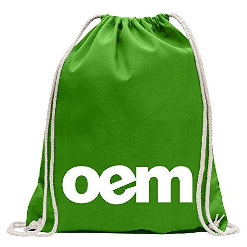 Kiwistar Conception OEM 2 Fun sac à dos sport sac de remise en forme Gymbag shopping coton avec cordon