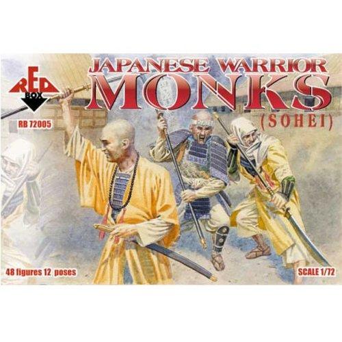 Guerrier japonais Monks (Sohei) (1:72)