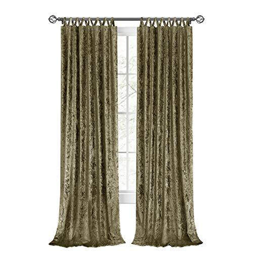 "Achim Home Furnishings, Moss Harper Criss-Cross Window Curtain Panel, 50"" x 63"""