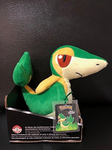 Pokemon Trainer's Choice 8 Inch Snivy Plush by TOMY