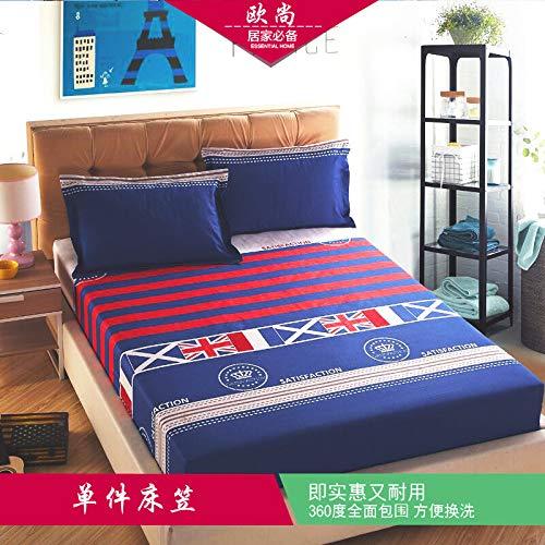 huyiming Verwendet für Bettdecke 1,8 Cartoon rutschfeste Schutzhülle Bettdecke Abdeckung niedlichen Staubschutz Simmons Matratze Einzelstück 1,2 * 2,0 m