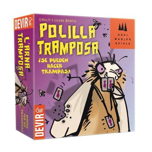 Devir - Juego Polilla Tramposa (BGPOLI): Amazon.es: Juguetes y juegos
