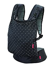 Design: Stash and dash carrier with adjustable ergonomic seat for knee-to-knee support for newborns and toddlers, when not in use, tuck the carrier into the supplied zippered pocket in the waist belt Wearing positions: For babies weighing between 12-...