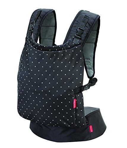 Infantino Zip Reise-Babytrage – Verstellbare Babytrage mit 4 Tragepositionen – Für Säuglinge und Kleinkinder von 3,6-18,4 kg