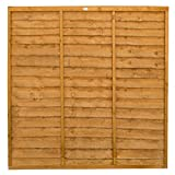 Image of Forest Garden Trade Lap Fence Panel 1.83M High (6x6) - Pack of 4