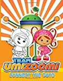 Team Umizoomi Connect The Dots: High-Quality Activity Dot Art Coloring Books For Adult Team Umizoomi