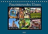 Faszinierendes Elsass (Tischkalender 2022 DIN A5 quer): Ein Stueck Frankreich von seiner schoensten Seite (Monatskalender, 14 Seiten )