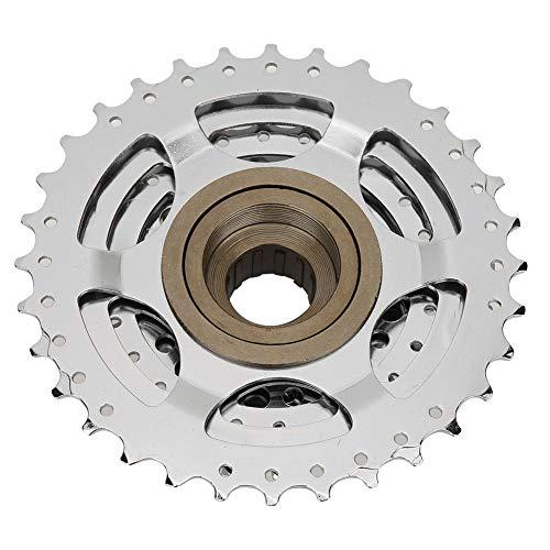 Sorand Rueda Libre roscada para Bicicleta de 9 velocidades, Rueda Libre giratoria de Cambio Suave Rueda Libre giratoria para Bicicleta, aleación de Aluminio para Bicicleta de montaña, Ciclismo,