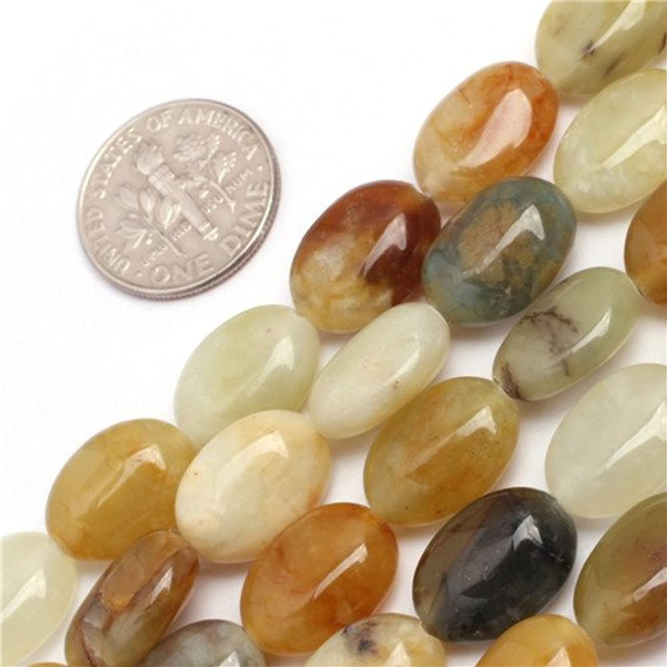 GEM-inside 10x14mm Oval Beads For DIY Jewelry Making