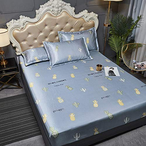 JRDTYS Super Soft Warm and Cosy Fitted Bed SheetThe bed cover is machine washable and non-slip-10_200cmx220cm+35cm