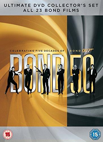 James Bond Collection 23 Films (24 Dvd) [Edizione: Regno Unito] [Edizione: Regno Unito]