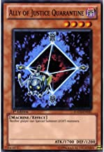 YuGiOh : HA03-EN051 1st Ed Ally Of Justice Quarantine Super Rare Card - ( Hidden Arsenal 3 Yu-Gi-Oh! Single Card ) by Deckboosters