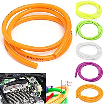 1 Meter 5mm ID 8mm OD,Gasoline Petrol Fuel Pipe Tube Water Hoses For Motorcycle