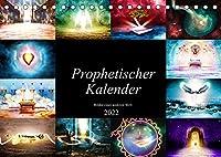 Prophetischer Kalender: Bilder einer anderen Welt (Tischkalender 2022 DIN A5 quer): Zwoelf prophetische Bilder grafisch dargestellt. (Monatskalender, 14 Seiten )