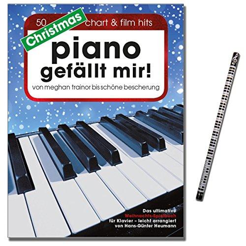 Christmas Piano bevalt mij! Hans-Günter Heumann. Gearrangeerd voor piano, keyboard, [muzieknoten - editie 13.08.2015] met muziekstift