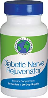 Diabetic Nerve Rejuvenator All-Natural Dietary Supplement addresses Tingling and Numbness in Hands and feet and Promotes Healthy Nerves with The nutrients They Need. 30 Day Supply.