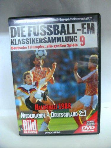 Die Fussball-EM ~ Klassikersammlung 9 ~ Deutsche Triumphe, alle grossen Spiele ~ Halbfinale 1988 ~ Niederlande-Deutschland 2:1