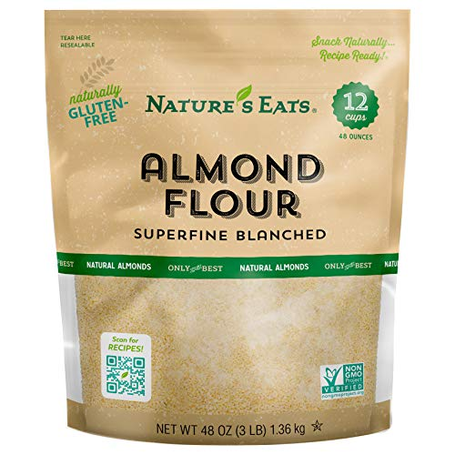 Nature's Eats Blanched Almond Flour, 48 Ounce (Packaging may vary)
