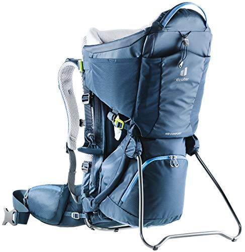 Deuter Kid Comfort Child Carrier and Backpack - Midnight