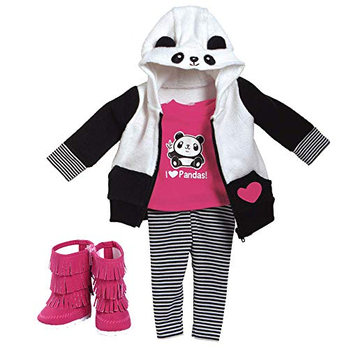 Adora Amazing Girls 18 Doll Clothes Panda Fun (Amazon Exclusive)