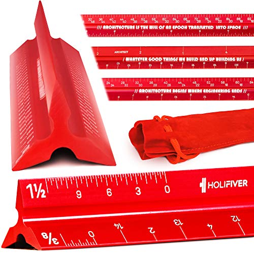 12 Inch Architectural Scale Ruler
