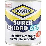 BOSTIK Superchiaro Gel adesivo a contatto universale in gel, non gocciola e non crea striature latta 750ml Giallo