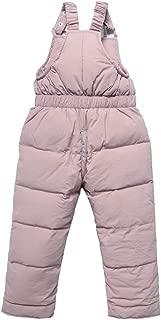 aihihe Kids Girls Boys Winter Warm Puffer Hooded Jacket and Pants 2-Piece Snow Ski Down Coats Snowsuit Skisuit Set