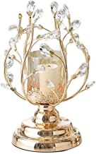 European Candle Holder Crystal Metal Candlestick Decoration American Home Table Decoration Candlelight Dinner Props (Size...
