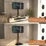 Soporte TV con Giratorio y Altura Ajustable para TV de Plasma/LCD de 19-42 Pulgadas