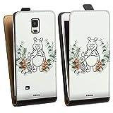 Étui Compatible avec Samsung Galaxy Note 4 Étui à Rabat Étui magnétique Disney Winnie l'ourson...