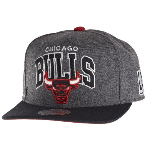 Mitchell & Ness - Casquette Snapback Homme Chicago Bulls Arch with logo 2 Tone