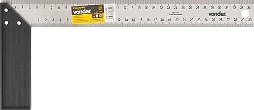 """Esquadro Para Carpinteiro Com Cabo Plástico Vonder 12"""""""