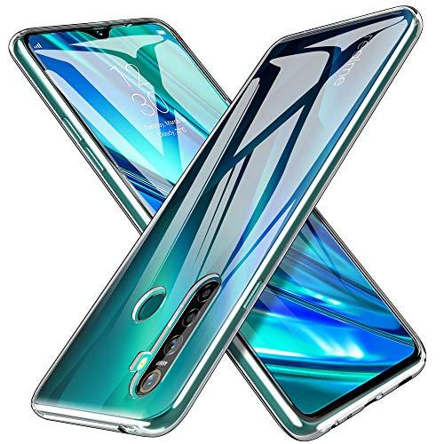iBetter Morbido Slim TPU per Realme5PRO Cover,Antiurto Trasparente Silicone Custodia, per Realme5PRO Smartphone.Trasparente