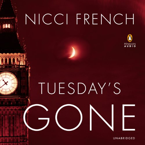 Tuesday's Gone     A Frieda Klein Mystery              Written by:                                                                                                                                 Nicci French                               Narrated by:                                                                                                                                 Beth Chalmers                      Length: 12 hrs and 42 mins     4 ratings     Overall 5.0