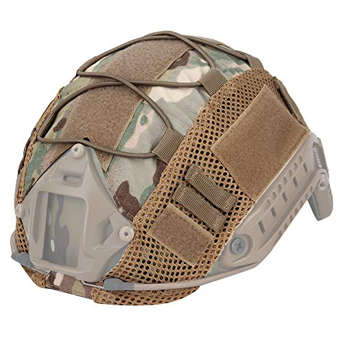 Funda táctica para casco Ops-Core Fast PJ (casco no incluido).