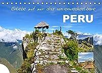 Erlebe mit mir das unverwechselbare Peru (Tischkalender 2022 DIN A5 quer): Peru liegt an der Pazifikkueste in Suedamerika. (Monatskalender, 14 Seiten )