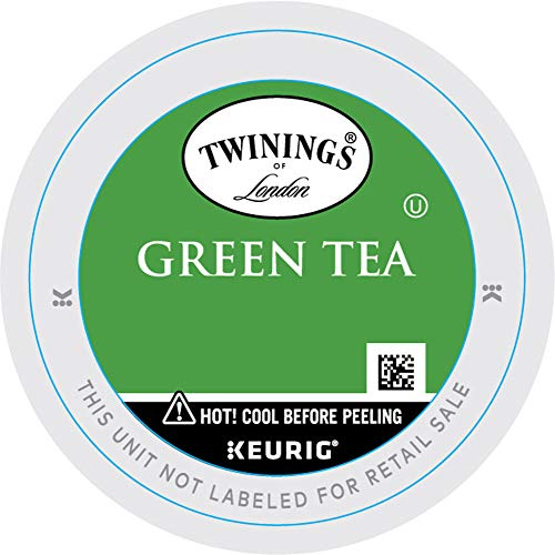 Twinings of London Green Tea K-Cups for Keurig, 12...
