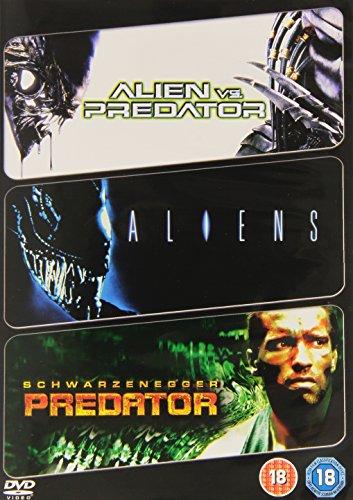 Alien Vs Predator / Aliens / Predator (3 Dvd) [Edizione: Regno Unito] [Reino Unido]