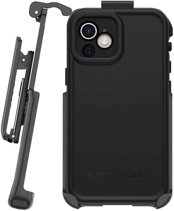 BELTRON Belt Clip Compatible with LifeProof FRE Series Case for iPhone 12 Pro Max (Holster ONLY, case is NOT Included)