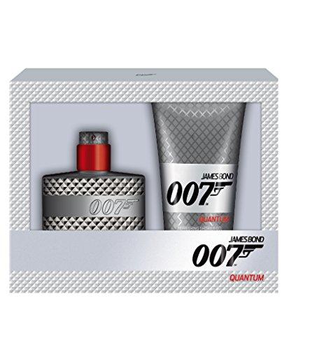 James Bond 007 Quantum Geschenkset homme/ men, Eau de Toilette Vaporisateur/ Spray 50 ml, Duschgel 150 ml, 1er Pack, (1x 200 ml)