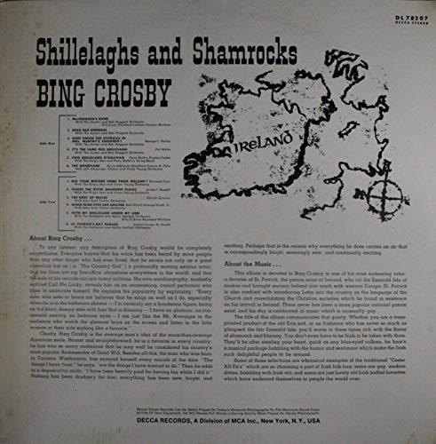 Bing Crosby: Shillelaghs and Shamrocks - LP Vinyl Record Album